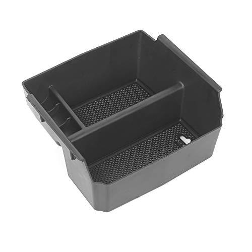 KKmoon Aufbewahrungsbox Mittelkonsole Organizer Tray Armlehne Aufbewahrungsbox für Jeep Wrangler JK 2007-2017