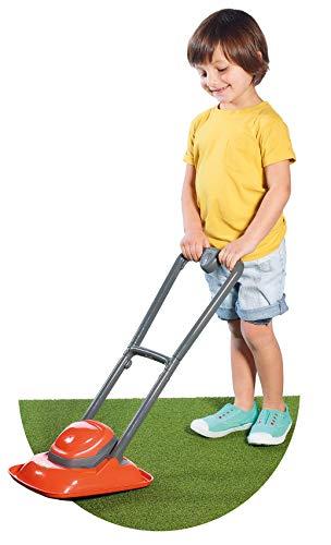 Casdon 730 Flymo Lawn Mower Toy, Orange and Grey
