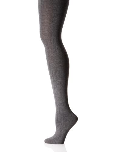 Pretty Polly Damen 120 Den Modal Blickdichte Strumpfhose - Grau - Medium-Large