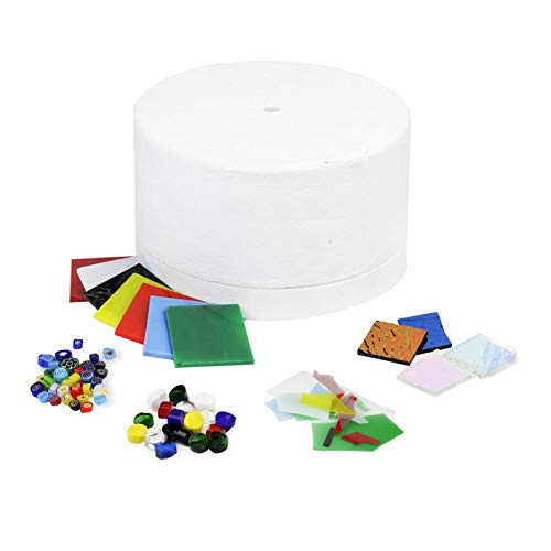 Harilla Kit de Horno de Microondas Grande de 6 Piezas para Herramientas de Fabricación de Joyas de Cuentas de Horno de Vidrio de Fusión