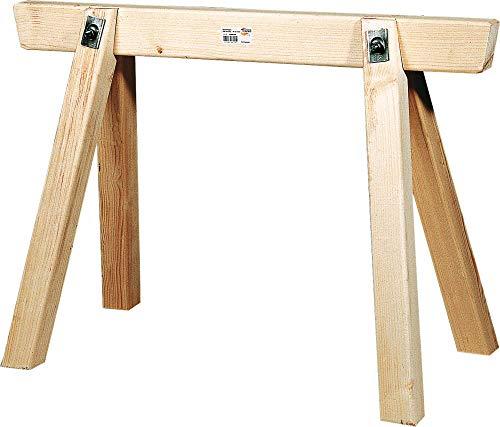 Triuso Bauschragen 100cm lang- 70cm hoch Gerüstbock Schrong Schrage Holzbock Bock Werkstattbock