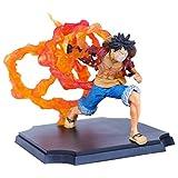 Figura Anime Figure One Pieza Figura de acción Monkey D. Luffy Fire Fist Pistola 15 cm COLECCIÓN DE FIGURAINA Estatua Decoración de los niños Juguetes Doll Regalo (Color : Monkeyd.Luffy)