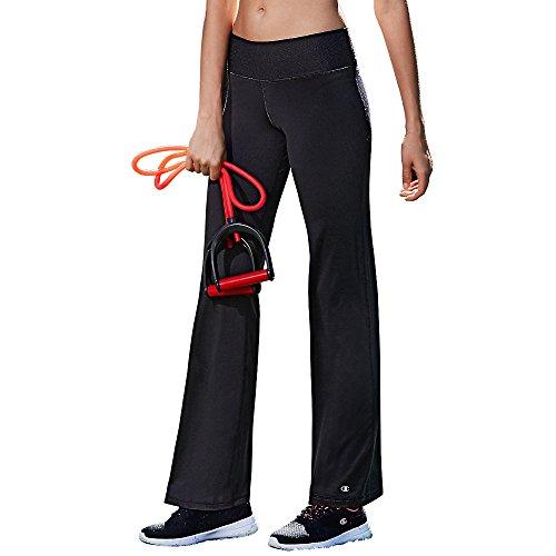 Champion Damen Absolute Semi-fit Pant with SmoothTec Leggings, schwarz, X-Klein