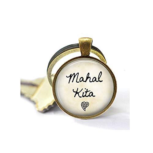 Mahal Kita Keychain - I Love You - Tagalog Philippines Keychain - Mahal Kita Key Ring - Filipino Quote - Pinoy Gift - Pinay Gift