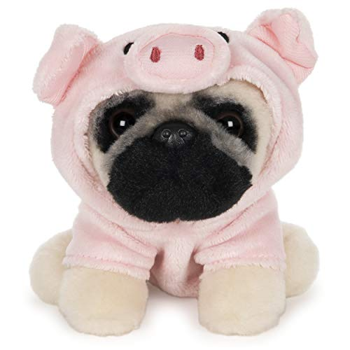 GUND Doug The Pug Pig Dog Stuffed Animal Plush, 5""