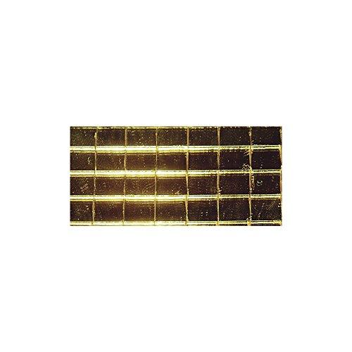Rayher - 1409106 - Spiegelmosaik, nicht zum Verfugen, 5x5mm, SB-Btl 600Stück, gold