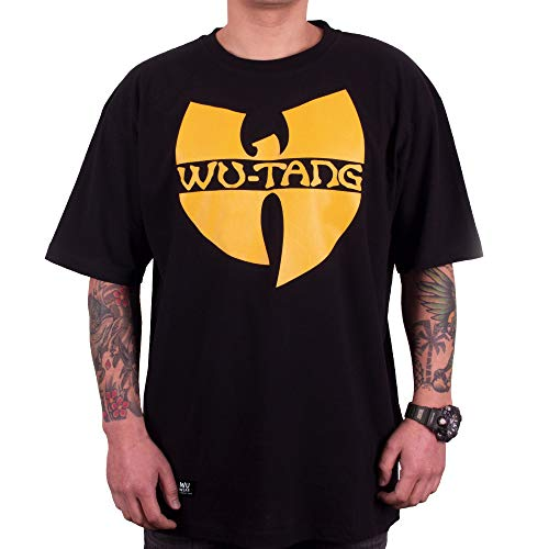 Wu Wear - Wu Tang Clan - Wu-Tang Clan Logo T-Shirt - Wu-Tang Clan Color Black, Size XL
