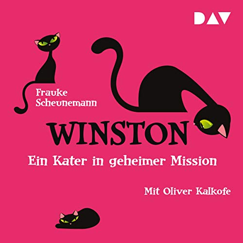 Ein Kater in geheimer Mission audiobook cover art
