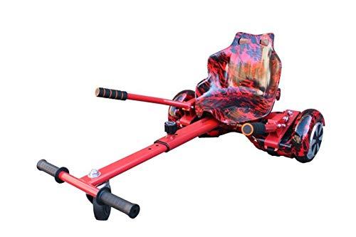 Gift Gadgets Graffiti Camo Red Flame Hoverkart Go Kart Balancing Board für 16,5/20,3/25,4 cm