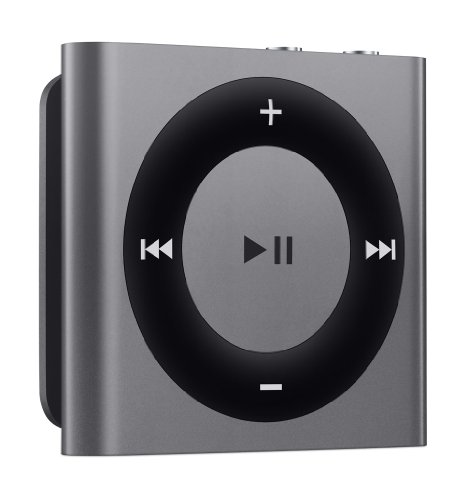 Ipod Shuffle 4. Generation Spacegrau Space Grey 2GB Mp3 Player 4G