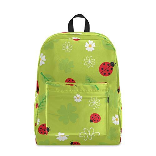 Lässiger Rucksack für Männer und Frauen – Käfer Marienkäfer Skarabäus Anti-Diebstahl-Rucksack Reise Schultasche College Daypack Schule Daypack