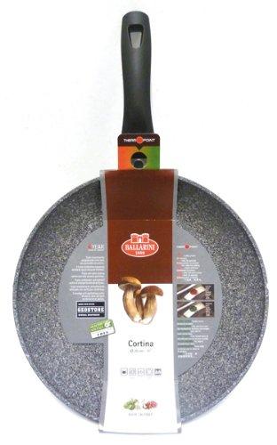 BALLARINI Pfanne mit Antihaftbeschichtung, Mit Temperaturkontrolle, 20 cm, Aluminium, Cortina Granitium