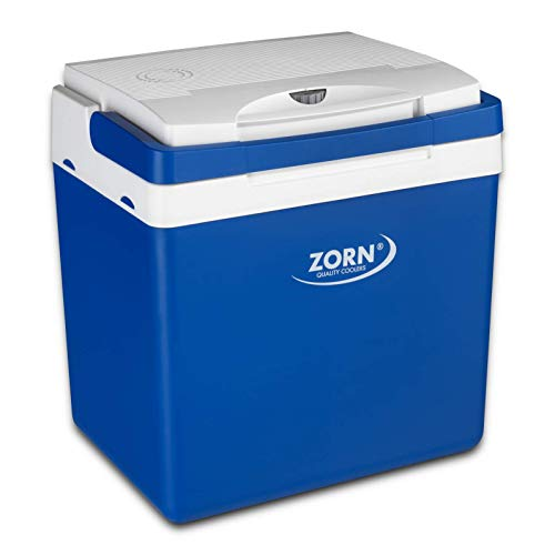 Zorn® Z26 I Elektrische Kühlbox I Kapazität 24 L I 12/230 V für Auto, Boot, LKW, Balkon und Steckdose I Energieklasse A++