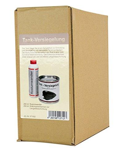 WAGNER Spezialschmierstoffe GmbH & Co. KG Einkomponentenharz Tankversiegelung 250 ml & Rostumwandler Rostentferner Rostlöser 250 ml
