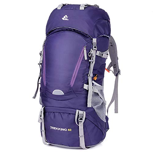 SKYSPER Hiking Backpack Travel Back Pack 60L Waterproof Large Trekking Rucksack...