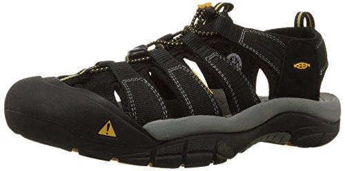 Keen Men's Newport H2 Sandal,Black,11 M US