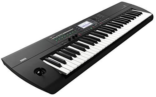 KORG i3 Music Workstation Synthesizer, schwarz, inkl. Software Paket, zum Erstellen von Musikproduktionen