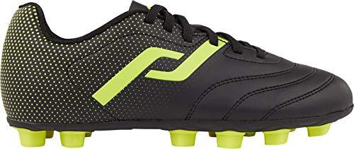 Pro Touch Nocke Classic III, Zapatillas de fútbol, Negro Amarillo, 30 EU