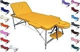 POLIRONESHOP EUROPA Massageliege behandlungsliege massagebank aluminium leicht