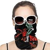 NA Variety, sciarpa scaldacollo bandana per attività all'aperto copricapo sciarpa collo ghetta bandana per uomini e donne bandana casco moto motocross