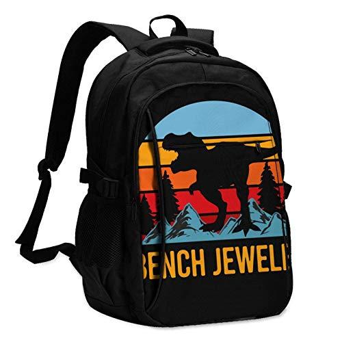 Mochila para portátil de Viaje, joyero de Banco Mochila para portátil de...