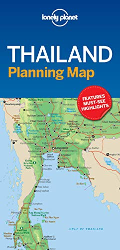 Lonely Planet Thailand Planning Map (Planning Maps)