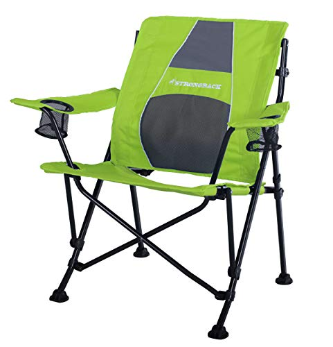 Strongback Guru - Ergonomic Foldable Camping Chair with Lumbar Support