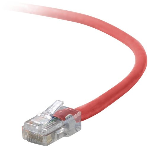Belkin Patch Cable - 1 ft (A3L791-01-RED)