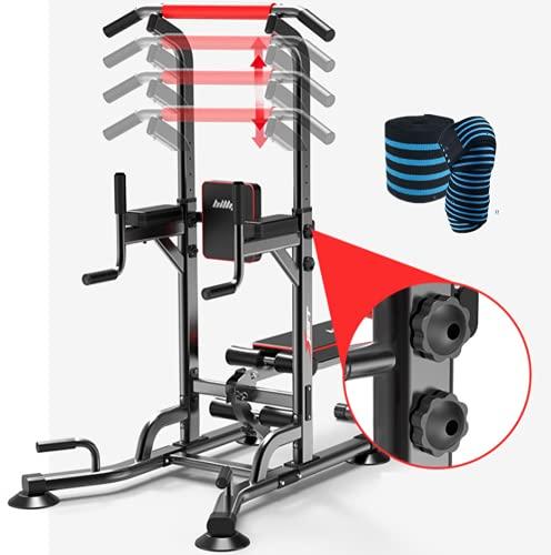 Phil Beauty Banco De Musculación Multifuncional Inclinable Barras Paralelas Individuales De Interior 600 LB Press De Banca Barra Músculos Abdominales