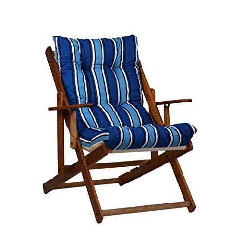 Chaise Longue Bain De Soleil,A Convient pour Ext/éRieur Wihsdx Fauteuil Relax,avec des Oreillers et des Coussins Pliable Et R/éGlable Chaise Longue Inclinable Piscine,Transat Jardin Etc Cour