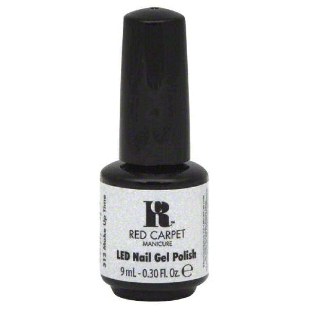 パース巻き取り豆Red Carpet Manicure Gel Polish, Make Up Time, 0.3 Fluid Ounce by Red Carpet Manicure [並行輸入品]