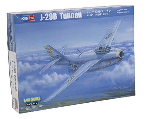 Hobby Boss 081746 – Kit de modélisme J 29B en Plastique échelle 1:48 Aviation