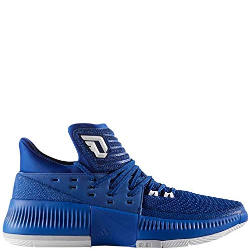 adidas Dame 3 Shoe Mens Basketball 5 Collegiate Royal-White