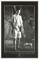 ポスター ステューシー ステューシー20th Anniversary プリント05 額装品 アルミ製ハイグレードフレーム