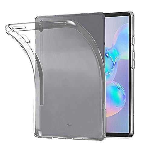 ebestStar - kompatibel mit Samsung Galaxy Tab S6 10.5 Hülle T860/T865 Handyhülle [Ultra Dünn], Premium Durchsichtige Klar TPU Schutzhülle, Soft Silikon, Transparent [Tab S6: 244.5x159.5x5.7mm 10.5