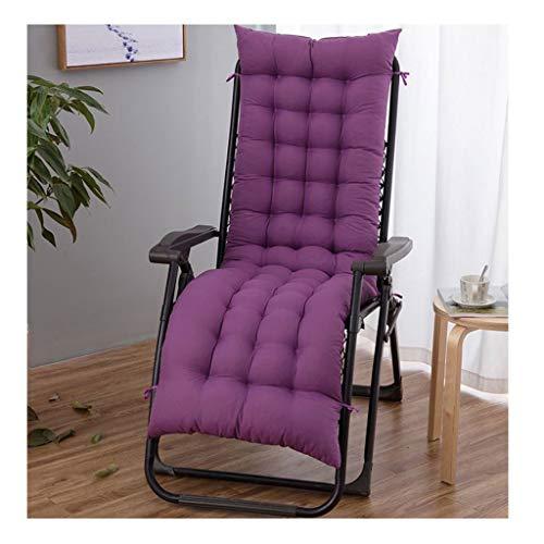 HEJINXL Tuinstoel Kussen Ligstoelen Kussen Kussens Dikkere Wattenschijfjes Terrasmeubilair Bankkussen (stoel Niet Inbegrepen) (Color : D, Size : 155x48cm)