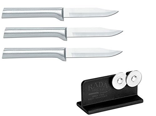 paring knife with sharpener - 4