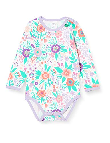 Fred'S World By Green Cotton Aloha Body, Multicolore (White 011060102), 86 Bébé Fille