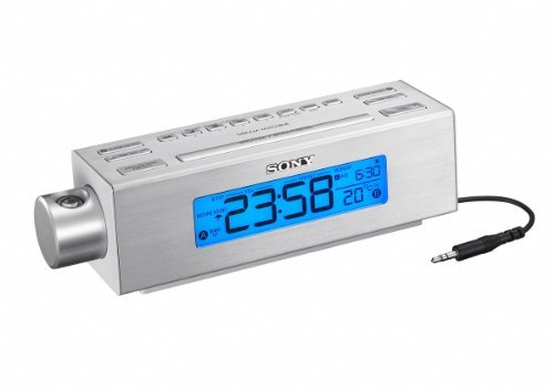 NEW Sony Projection AM/FM Clock Radio (Audio/Video/Electronics)