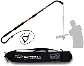 Batter-Ox Baseball Swing Trainer, Guaranteed Batting Average Improvement, Portable Indoor or Outdoor