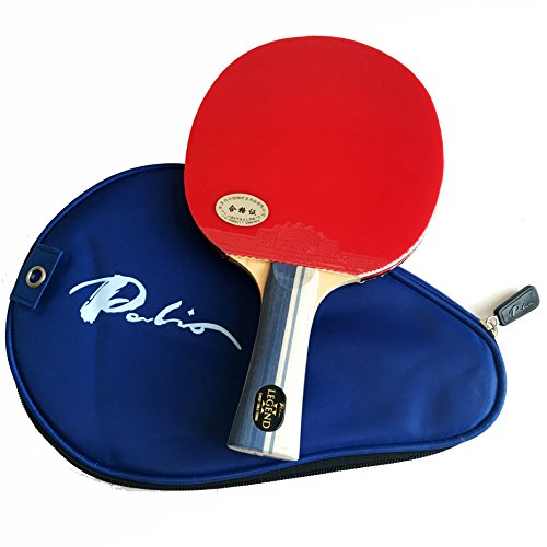 Palio Legend 2.0 Table Tennis Racket & Case - ITTF Approved - Flared - Intermediate Ping Pong, Racket, Paddle