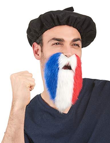 Party Pro- Barbe patriotique, Unisexe Adulte, 865108, Large
