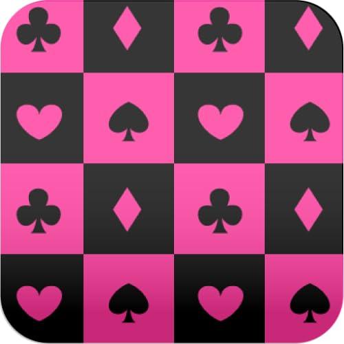 Karten Bildschirm ver6 schwarz und pink