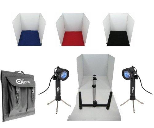 Ex-Pro 40cmx40cm Product Foto Soft Box kubus Studio Set voor Witte Terug Fotografie