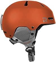 Retrospec Traverse H3 Adult Ski & Snowboard Helmet with 10 vents; Matte Ember Orange, Small 52-55cm