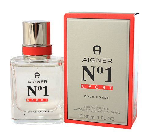 Etienne Aigner Number 1 Sport homme / men, Eau de Toilette, Vaporisateur / Spray, 1er Pack (1 x 50 ml)
