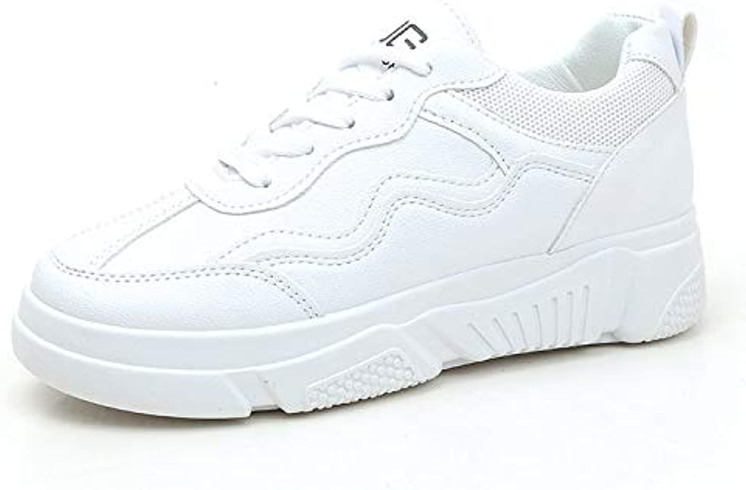 Small White shoes Girls Spring and Autumn Wild Leather Flat Korean Sports Casual shoes Moisture Absorption Breathable Non-Slip wear
