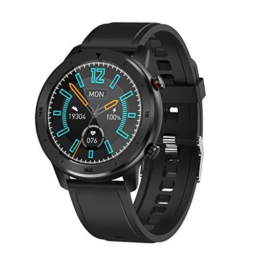 KKZ DT78 Smart Watch Men's y Women Smart Watch Pulsera Actividad de Fitness Tracker Dispositivo portátil Tarifa cardíaca Impermeable SmartWatch,E
