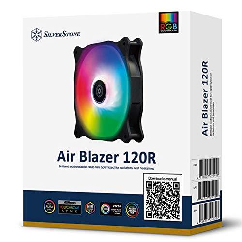 ventilador rgb 120mm de la marca SilverStone Technology