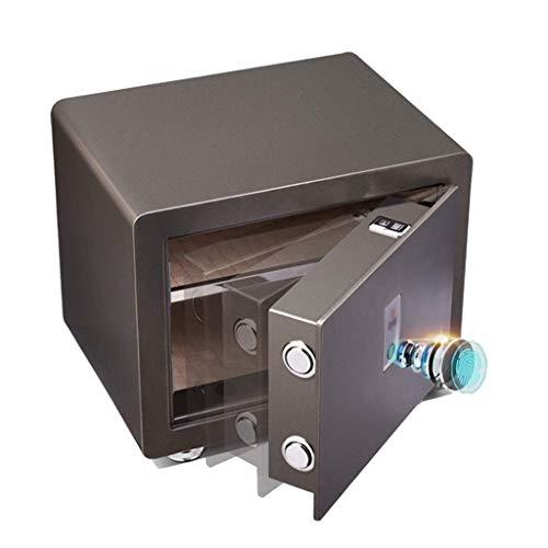 GAXQFEI Cajas Fuertes de Diversión Cajas de Seguridad de Paredes Electronic Home Caja Fuerte con Huella Dactilar Media Caja Fuerte Automática de Seguridad de Acero Caja Fuerte Segura para Artículos I